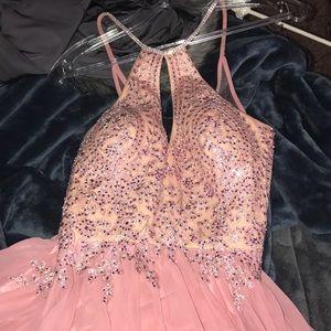 Beautiful Light Pink Prom Dress